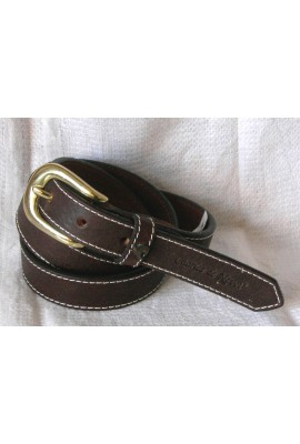 belt in leather 2.5cm