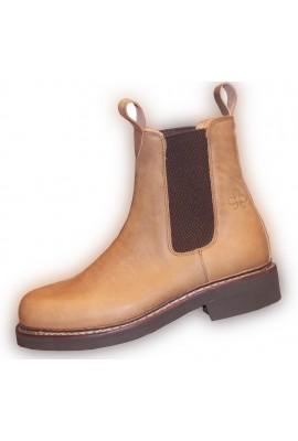 Ari elastic short boots
