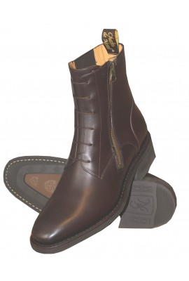 Bottines Ruben zip exterieur