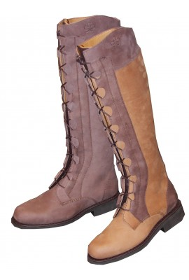 Lady' s lace-up long bootsDiane