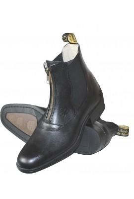 Fabian front zip jodphur boots